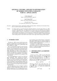optimal control applied to optimization of mobile switching ... - LISA.Ref