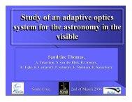 2 - Laboratory for Adaptive Optics