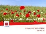 Présentation Albane Gaspard - DREAL Poitou-Charentes