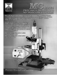 Download Product Brochure PDF - Meiji Techno
