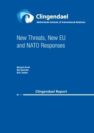 New Threats_New EU_Nato Responses_Clingendael_July2015