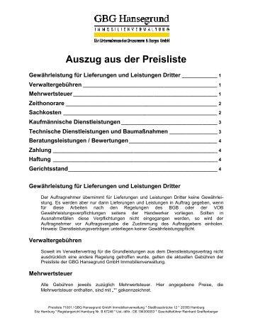 Auszug Rahmenvertrag Vorlage Für Produkte Procurech