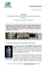 Télécharger - Crédit Agricole Toulouse 31