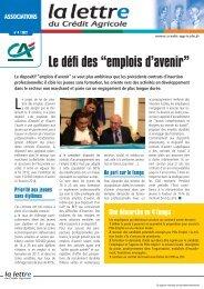 """Le défi des """"emplois d'avenir"""" - Crédit Agricole Anjou Maine"""