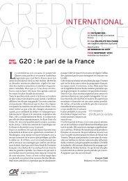 1er trimestre 2011 - Crédit Agricole Toulouse 31