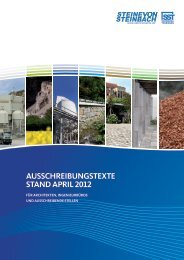 garten- und landschaftsbau - Steine von Steinbach
