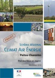 État des lieux en région - Région Poitou-Charentes