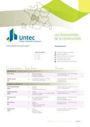 Annuaire Régional - UNTEC