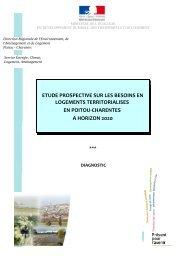 diagnostic et le rapport prospectif - DREAL Poitou-Charentes