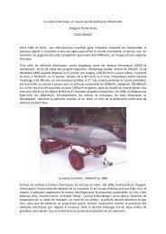 La voiture électrique Annales des Mines POSTEL-VINAY 2009