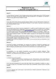 Journée Conquête 2011 - Crédit Agricole Toulouse 31