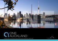 one Auckland concept - Transparency New Zealand