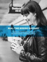 REAL-TIME BIDDING GLOSSARY - Triton Digital
