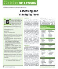 Assessing and Managing Fever - Partners in Healthcare Education