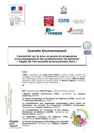 Télécharger la convention DTU (document technique unifié)