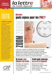 quels enjeux pour les PME ? - Crédit Agricole Toulouse 31