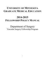 Fellowship Program Addendum (PDF) - Surgery - University of ...