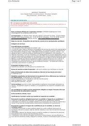 Page 1 sur 3 Avis d'émission 03/09/2013 https://publication ...