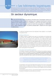 Les bâtiments logistiques - UNTEC