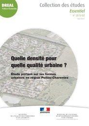 la synthèse de l'étude - DREAL Poitou-Charentes