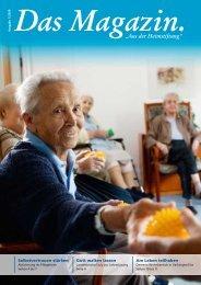 Das Magazin 1/2009 - Evangelische Heimstiftung