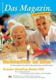 Das Magazin 4/2008 - Evangelische Heimstiftung