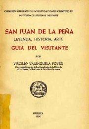 San Juan de la Peña. Leyenda, historia y arte - Diputación ...