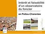 Connaissance des enjeux fonciers en Poitou-Charentes