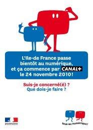 L'Ile-de France passe bientôt au numérique, et ça ... - Ville de Chaville