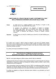 Compte rendu CM 18 septembre 2012 - Ville de Chaville