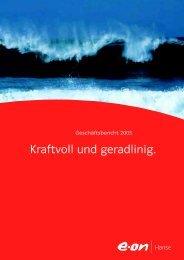 Kraftvoll und geradlinig. - E.ON - Strom und Gas - Info-Service - E ...