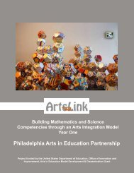 Arts Link - Philadelphia Arts In Education Partnership