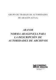 ARANOR - Diputación Provincial de Huesca