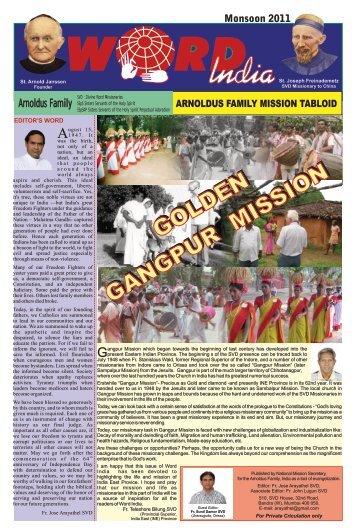 World India : Monsoon-2011 - Svdindia.org