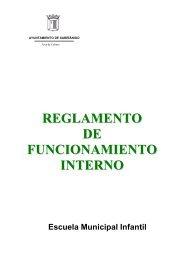 Reglamento y funcionamiento de la Escuela