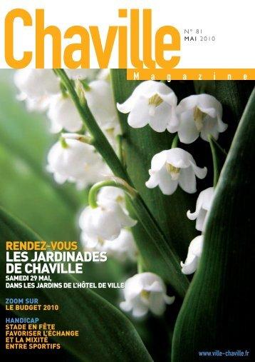 LES JARDINADES DE CHAVILLE LES ... - Ville de Chaville