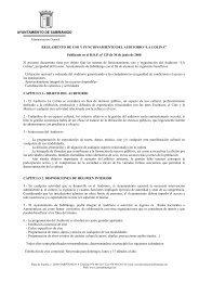 Reglamento y funcionamiento del auditorio - Ayuntamiento de ...