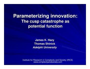 Parameterizing innovation: - ComplexityLeadership