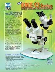 EMZ-13 Product Brochure - Meiji Techno