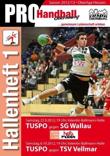 Tuspo Hallenheft 02 - TuSpo Obernburg