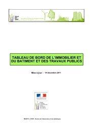 TABLEAU DE BORD DE L'IMMOBILIER ET DU BATIMENT ... - UNTEC