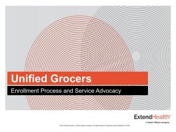 Unified Grocers - Extend Health