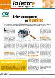 4ème trimestre 2010 - Crédit Agricole Toulouse 31