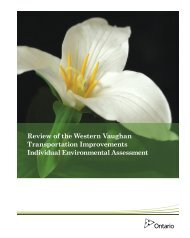 Ministry Review Document - downloads.ene.gov.on.ca - Ontario