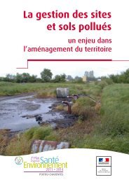 La gestion des sites et sols pollués - DREAL Poitou-Charentes