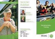 Fahrsicherheits- Training - Maschinenring Dithmarschen Fahrschule