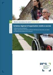 Schéma régional d'organisation médico-sociale - ARS Rhône-Alpes