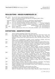Curriculum vitae en pdf - Anne-Sarah Le Meur - Free