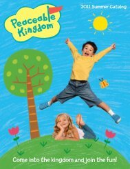 Come into the kingdom and join the fun! - Peaceable Kingdom