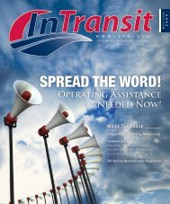 SPREAD THE WORD! - Amalgamated Transit Union